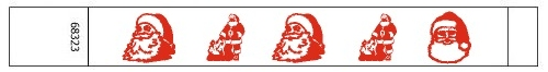 Santa Christmas Tyvek Wristbands